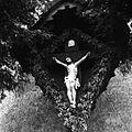 Križ na poti na Hudinjo 1963.jpg