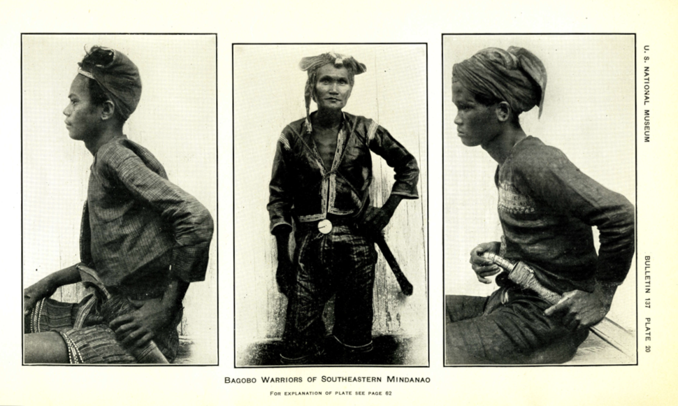 Krieger 1926 Philippine ethnic weapons Plate 20