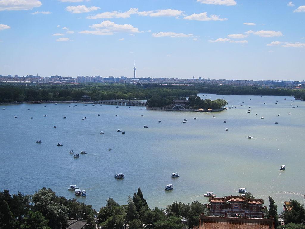 Kunming Lake (Summer Palace, Beijing) in summer