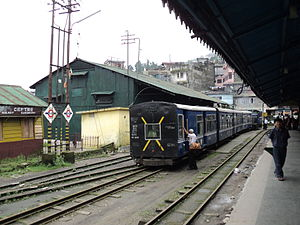 Darjeeling district - Kurseong Station, Darjeeling Himalayan Railway