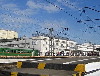 Moscow Kursky railway station - Image: Kurvmos