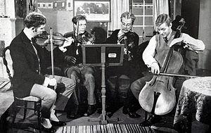 Birger Sjöberg - Image: Kvartetten som sprangdes 1962