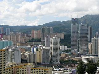 Kwai Fong location in Hong Kong