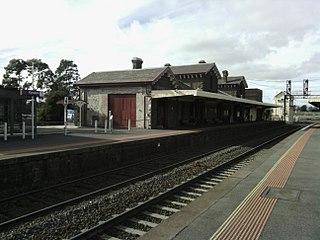 Kyneton railway station railway station in Kyneton, Victoria, Australia