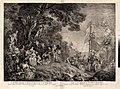 L'Oeuvre D'Antoine Watteau Pientre du Roy en son Academie Roïale de Peinture et Sculpture Gravé d'après ses Tableaux & Desseins originaux...par les Soins de M. de Jullienne MET FRONTIS02 47J.jpg