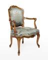 Länstol, 1700-talets mitt - Hallwylska museet - 110062.tif