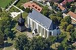 Légi felvételen a Református templom és a harangtorony.jpg