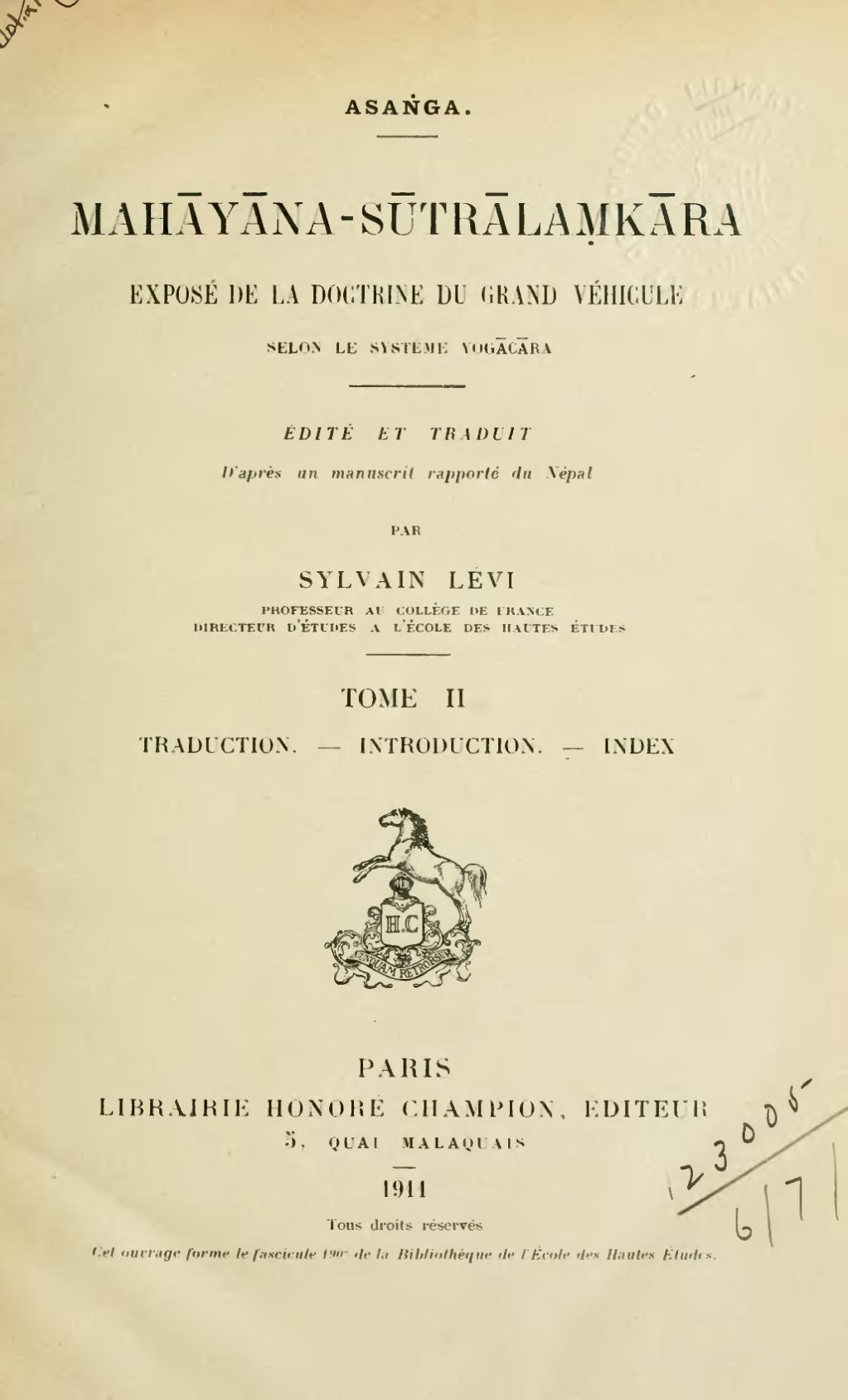 Lévi Exposé cover art
