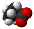 L-proline-zwitterion-van-xtal-3D-vdW-A.png