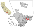 LA County Incorporated Areas La Puente highlighted.svg