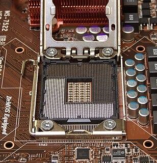 LGA 1366 CPU socket for Intel processors