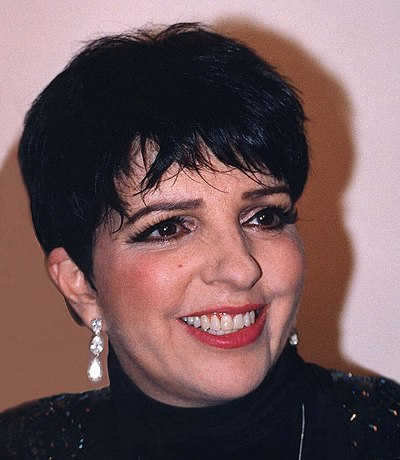 Liza Minnelli, American actress and singer