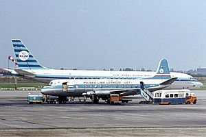 1962 LOT Vickers Viscount Warsaw crash - A LOT Vickers Viscount, similar to the one involved