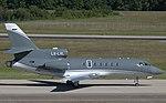 LX-LXL Dassault Mystere Falcon50 FA50 (14095552498).jpg