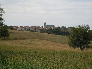 La Bâtie-Divisin Part of Les Abrets-en-Dauphiné in Auvergne-Rhône-Alpes, France