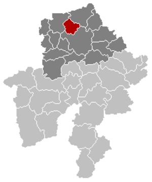 La Bruyère, Belgium - Image: La Bruyère Namur Belgium Map
