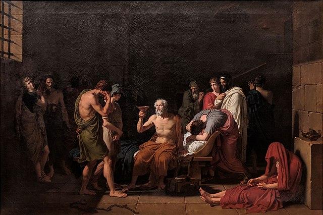 François Xavier Fabre: La muerte de Sócrates (1802).