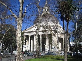 Inmaculada Concepción parish - Image: La Redonda 2
