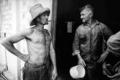 La Zafra. Cortadores de caña de azúcar. Cuba 1991.png