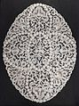 Lace doily, Belgium, 1714-1715 - Museum of Anthropology, University of British Columbia - DSC09267.jpg