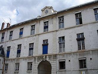 Necker-Enfants Malades Hospital - Image: Laennec memorial, Necker Hospital, Paris 3
