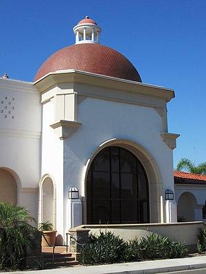 Laguna Hills, California - Part of the Laguna Hills Civic Center facade facing El Toro Road
