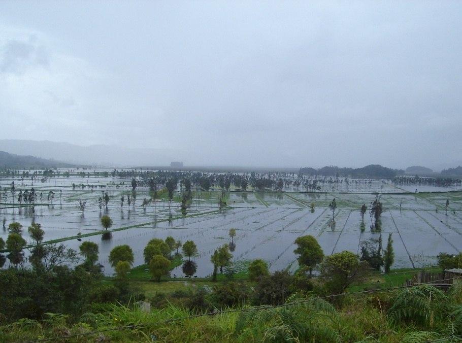 Laguna de Fúquene inundación
