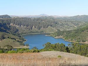 Lake Chabot Regional Park - Lake Chabot, from the Fairmont Staging Area, Lake Chabot Regional Park