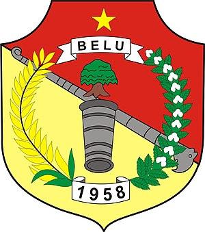 Belu Regency - Image: Lambang Kabupaten Belu