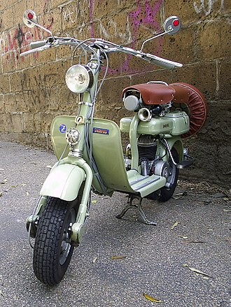 Scooter (motorcycle) - 1952 Lambretta 125 D