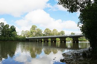 Lamington Bridge - Lamington Bridge, from north-east, 2009