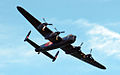 Lancaster bomber over Cowes in May 2013 7.jpg