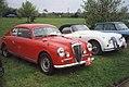Lancia Aurelia B20 GT & Jaguar XK150 Roadster (29664769864).jpg