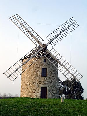 Lancieux - The windmill in Lancieux