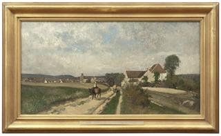 Landscape near Grez-sur-Loing