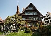 Haus Im Zentrum, Erbaut 1936 Von Johann Anton Tscharner.