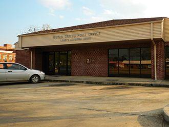 Lanett, Alabama - Lanett Post Office (ZIP code: 36863)