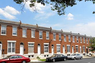 Baltimore East/South Clifton Park Historic District - Image: Lanvale & Washington Bmore East HD