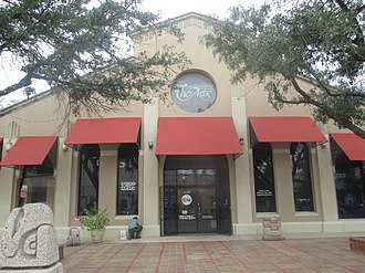 Laredo, Texas - Laredo Center for the Arts in the downtown square