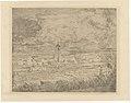 Large View of Mariakerke, print by James Ensor, 1887, Prints Department, Royal Library of Belgium, S. II 63752.jpg