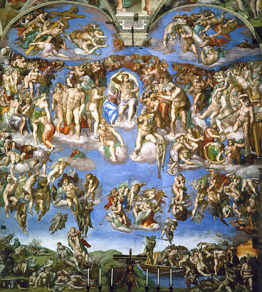 File:Last Judgement by Michelangelo.jpg