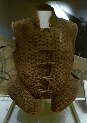 Warfare in early modern Scotland - A leather jack of the kind worn by in the sixteenth century