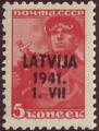 Latvia GermanOcc 1941 Mi01 B002a.png