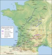 Le 4 vie della Francia per Santiago.png
