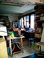 Le Loop hackerspace at La Gare XP Paris 09, July 2013.jpg