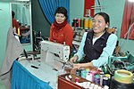 Le Thi Het receives support to boost her income from sewing. (6586865571).jpg