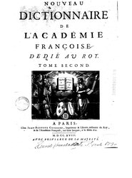 Le dictionnaire de l'Academie françoise, 1718, T2, M-Q.djvu