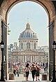 Le pont des arts et l'Institut de France, Paris juillet 2013.jpg