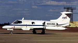 Learjet 23 - NASA Learjet 23