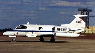 Learjet - The company's first aircraft, the pioneering Learjet 23